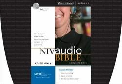 Niv Audio Bible Ser. Voice Only By Zondervan Staff 2002, Compact Disc,...