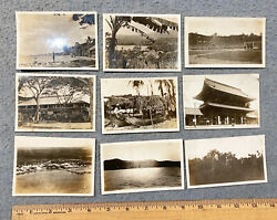 1930s Asian Lot 9 Photos From Navy Sailor Album Buildings Philippines Pictures