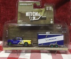 Greenlight Green Machine Hitch And Tow 2016 Ford F-150 Michelin