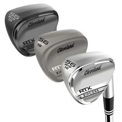New Cleveland Golf Rtx Zipcore Wedge 2020 Choose Finish Club And Dexterity