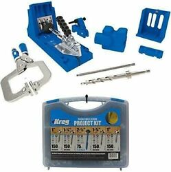 Kreg Jig K4 Master System And Pocket-hole Screw Kit In 5 Sizes + Tools