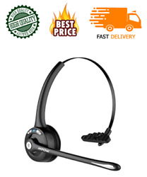 Wireless Blue Parrot Headset Truck Driver Noise Cancelling Bluetooth Boom Mic Ne