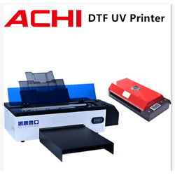 Dtf Uv Flatbed Printer Direct To Film T-shirt Printer Epson R1390 W /oven Heater