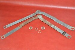 1972-83 Jeep Wagoneer Tailgate Latch Arms Hinge Straps Release Door Linkage Arm
