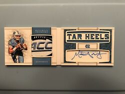 2017 National Treasures Mitchell Trubisky 1/1 Auto Booklet Acc Patch