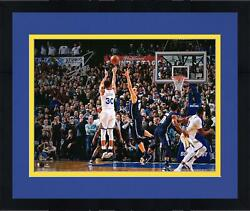 Frmd Stephen Curry Gs Warriors Signed 16 X 20 Game Winning Shot V Dallas Photo