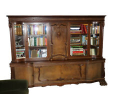Living Room Furniture Set Bookcase, Coffee Table And Chairs