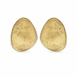 Marco Bicego 18k Yellow Gold Earrings Lunaria Drop New And Authentic