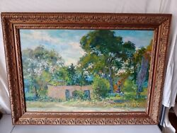 Lenox Berkshires Listed Artist William Schultz Sante Fe New Mexico Oil Painting