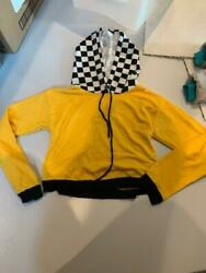 G Mini Girls Hoodie Size S Yellow Black Great Condition $4.99