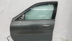 Front Driver Door Spiral Gray 812k Oem 04 05 Cadillac Deville No Armored R325809