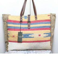NEW Myra Bag Weekender XL Tote Bag Overnight Bag Grocery Tote for Travel Beach $60.00
