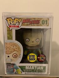 Funko Pop Mars Attacks Martian 01 Glow In The Dark Rare Sdcc Only 480 Made