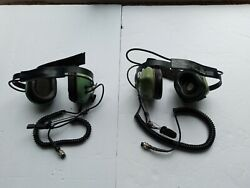Two David Clark Headsets - See Pics - Free Shipping