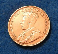1920 Canada Large Cent - Exceptionally Nice Coin - Lots Of Luster - See Pics