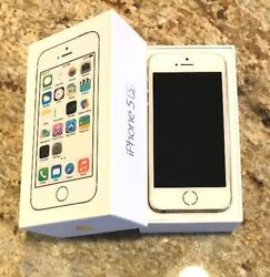 Apple Iphone 5s - 32gb - Unlocked -gold -excellent- A1533 With Box Me328ll/a
