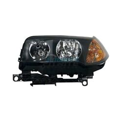 New Left Hid Head Light Lens And Housing Fits 2004-2006 Bmw X3 Bm2502146