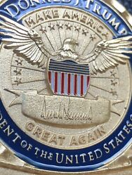 Potus President Donald J. Trump Challenge Coin - Official 4th Release Issue Maga