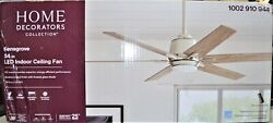 Home Decorators Collection Kensgrove 54quot; Integrated LED Indoor Ceiling Fan