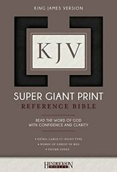 Kjv Super Giant Print Bible By Bibles New 9781683070207 Fast Free Shipping-.