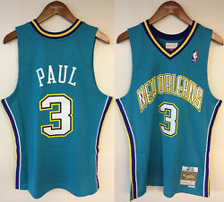Chris Paul New Orleans Hornets Nola Mitchell And Ness Nba 2005-06 Authentic Jersey