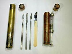 Antique Royal Army Medical Corp England 1880 Surgeons/doctors Walking Stick/cane