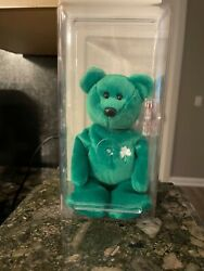 Ty Beanie Babies Erin 1997 1st Edition Very Rare With Tag Errors Mint Condition