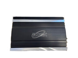 Atomic Car Audio Amplifier 1600x1 Rms Bass Control Top Of The Line Retail 800