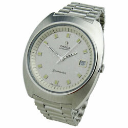 Omega Seamaster Vintage Stainless Steel Automatic Wristwatch Circa 1970