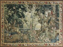Tapestry French Design Very Fine Reprotection. 6and0398 X 9and0393.c-1990and039s 17210