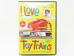 Tm Books And Video Dvd Railroad I Love Toy Trains - 5 Dvd Collector's Set