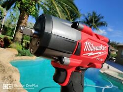 Milwaukee 2960-20 M18 Fuelandtrade 3/8 Mid-torque Compact Impact Wrench Free Shirt