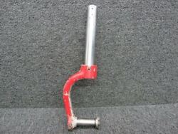 67050-007 Piper Pa28r Nose Gear Lower Strut Tube And Fork