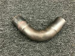 40b19844 Piper Pa46-350p Lycoming Tio-540-ae2a Exhaust Pipe No. 1 Cylinder