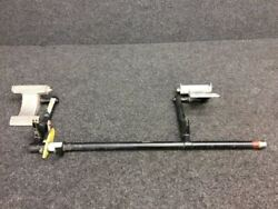 Rockwell 112tc Shaft Pedal Support Lh W/ Pedals P/n 47250-501, 47491-501