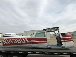 Cessna 172m Fuselage Assy W/ Bill Of Sale, Data Tag, Airworthiness, Log Books