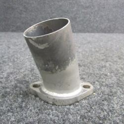 40b19840 Piper Pa46-350 Lycoming Tio-540-ae2a Exhaust Pipe Adapter
