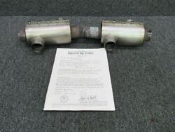 6300 / 6100 Piper Pa31-310 Lycoming Tio-540-a2b Exhaust Heater Set Lh And Rh