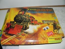 Pre-owned Tyco Ho Golden West Train Set 91-0-090 1960's