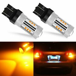 13smd 7443 7440 Led Turn Signal Parking Lights Amber Yellow High Power Projector