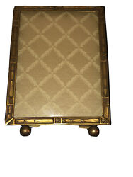 Antique French Art Deco Ornate Picture Frame Circa 1920 With Glass Protection