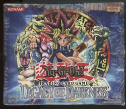 Yugioh Legacy Of Darkness Lod Factory Sealed Booster Box 36 Packs