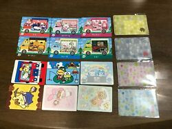 Animal Crossing Card Sanrio All 6 Complete + 6 Stickers + 4 Card Cases Japanese