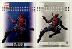 2013 Marvel Now Deadpool Lot 25 And Rare Silver Parallel 25 Upper Deck