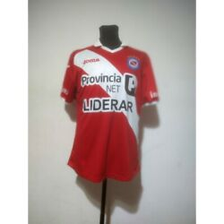 Argentinos Juniors Soccer Jersey Joma 2015 Size L Match Worn
