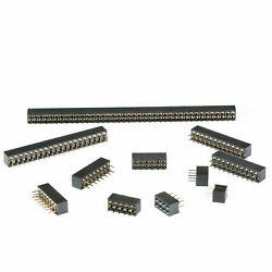 2.0mm Pitch Female Pin Header Sraight Pin Double Row Connector 2x2p/3/4/5/6-40p