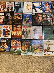 Lot Of 48 Used Dvd Movies - Wholesale - Very Good-sealed Condition