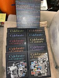 Usps - Celebrate The Century 10 Volume Book Set - Stamps