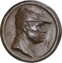 Johnson Medal. Ten-year Fascist Party. Voluntary National Security Militia.120mm