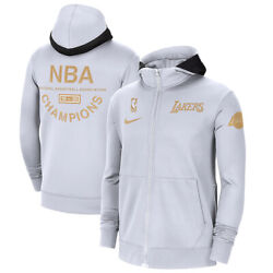 Los Angeles Lakers Nike Nba Finals Champions Ring Trophy Therma Flex Full Hoodie